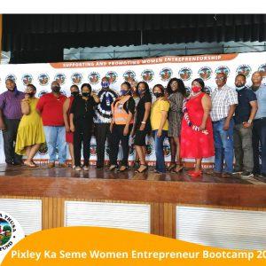 Pixley Ka Seme Women Entrepreneur Bootcamp 2020
