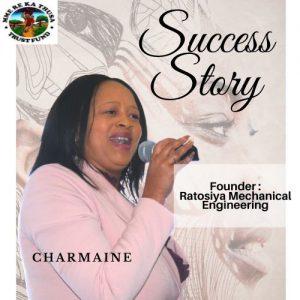 Charmaine Ramaseli: Founder, Ratosiya Mechanical Engineering