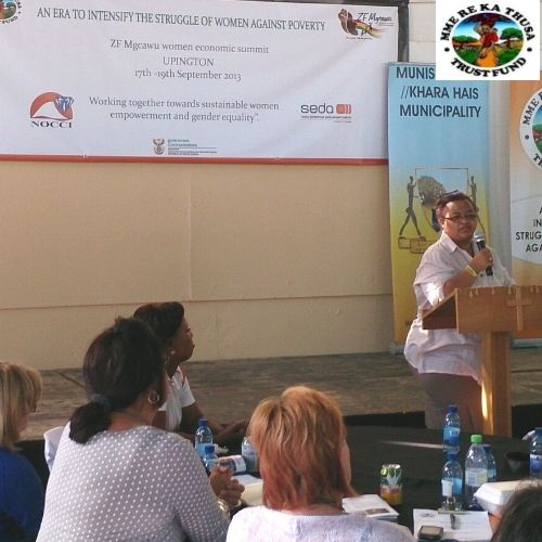 Premier of the Northern Cape at Women Summit