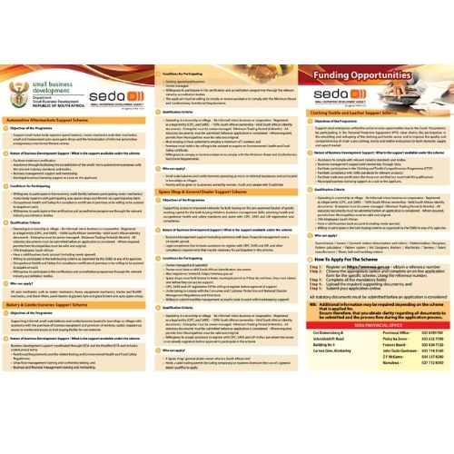 SEDA & Department of Small Business