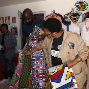 Business Resuscitation Roadshow MRKTTF Springbok delivering materials