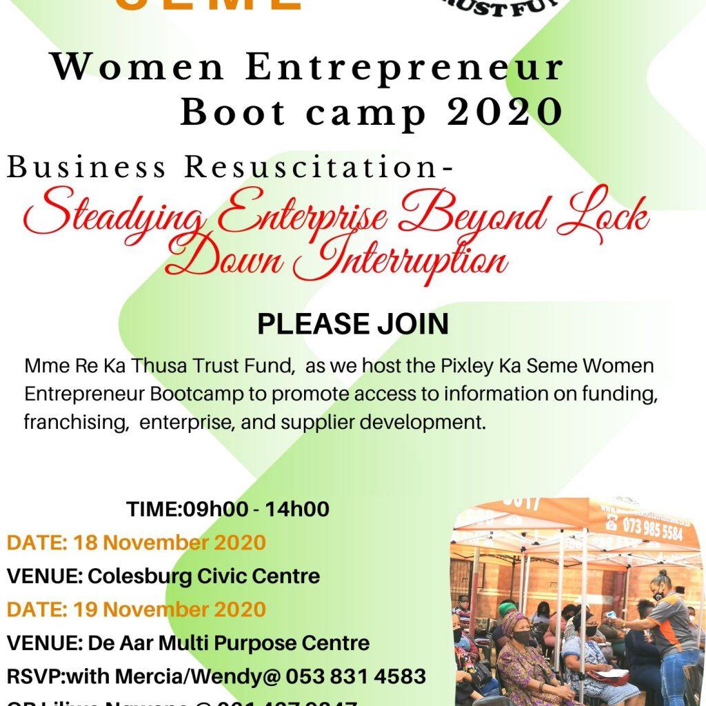 Women Entrepreneur Bootcamp