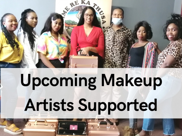 Upcoming Makeup Artists Supported