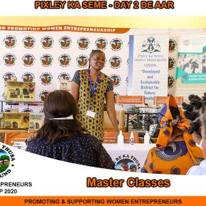 Master Class done opportunities for SMME