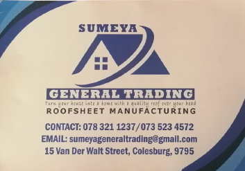 Sumeya General Trading Business Card